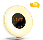 Wake Up Light Alarm Clock with Sunrise Simulation, Digital LED Alarm Clock with