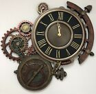 Steampunk Astrolabe Wall Clock Wall Decor - Decorative Home *HOME DECOR*