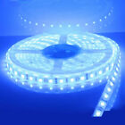 1 Roll 16FT MARINE BOAT BLUE IP68 WATERPROOF LED STRIP LIGHTS 60LED/M WHITE PCB