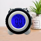 Digital LCD Electronic Alarm Clock Thermometer Calendar with Double Bell