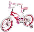 "Dynacraft Hello Kitty Girls BMX Street Bike 16"" Pink/White/Pink"