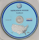 2004 2005 VW Touareg CD Base Navigation Map Cover AL GA FL Partial States NC