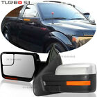 Left+Right Folding Manual Tow Side Mirrors 99-06 Chevy Silverado 1500 2500 3500