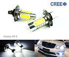 2x H7 CREE Plasma LED Projector Fog Driving Light For Audi Mercedes BMW Porsche