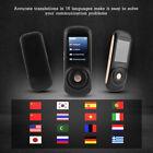 Mini Intelligent Translator 37 Languages Instant Voice Translation Device Newest