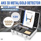 AKS Handhold 3D Metal Gold Detector 1000m Long Range Diamond Finder Detector