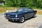 1965 Ford Mustang FASTBACK 289 4BBL 4SPD 1965 FASTBACK WITH 289 4BBL ENGINE 4SPD SOLID BEAUTIFUL CASPIAN BLUE NICE
