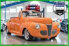 Ford Convertible Coupe  1941 Ford Convertible Coupe 383-cid V8 Automatic Steel Body 41 Street Rod