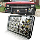 """4X6"""" CREE LED Headlight Hi/Lo 15LED Clear Sealed Beam Projector HID for H4651"""