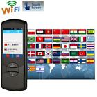 "2.8"" Touchscreen Voice Translator Device 4GB 42 languages Two-Way Wifi/4G F0N6"