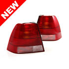 99-05 VW JETTA BORA MK4 EURO OEM FACTORY STYLE TAILLIGHTS - RED/CLEAR