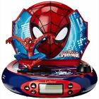 MARVEL ULTIMATE SPIDERMAN PROJECTOR ALARM CLOCK RADIO NEW by LEXIBOOK