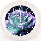 "Beautfiul Flower Wall Clock 10"" will Be Nice Gift Or Room Wall Decor Z167"