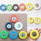 Portable LCD Hygrometer Humidity Thermometer Round Temperature Meter Universal