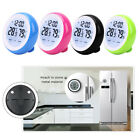 Digital LCD Round Display Thermometer Hygrometer Electronic Humidity Indoor Test