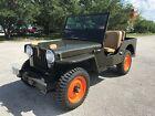 1948 Jeep CJ  1948 Willys Jeep