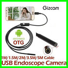 Camera Inspection Endoscope Borescope Waterproof Smartphone Android 6 Led Wifi 5