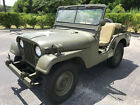 1952 Willys M38A1 1952 WILLYS M38A1 MILITARY JEEP - NUT AND BOLT RESTORATION