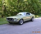 1967 Ford Mustang FASTBACK GT 390 S-CODE 1967 FASTBACK GT 390 S-CODE FACTORY 4SPD NOW AUTO SOLID BEAUTIFUL LIME GOLD NICE