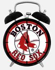 """Boston Red Sox Alarm Desk Clock 3.75"""" Home or Office Decor W86 Nice For Gift"""