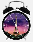 "Eiffel Tower Alarm Desk Clock 3.75"" Home or Office Decor W109 Nice For Gift"