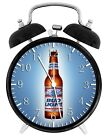 "Bud Light Beer Alarm Desk Clock 3.75"" Home or Office Decor W113 Nice For Gift"