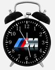 "BMW M Model Alarm Desk Clock 3.75"" Home or Office Decor W108 Nice For Gift"