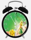"Tinker Bell Alarm Desk Clock 3.75"" Home or Office Decor W94 Nice For Gift"