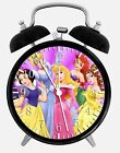 "Disney Princess Alarm Desk Clock 3.75"" Home or Office Decor W107 Nice For Gift"