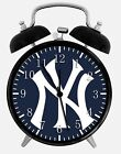 "New York Yankees Alarm Desk Clock 3.75"" Home or Office Decor W100 Nice For Gift"