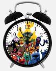 """Sesame Street Alarm Desk Clock 3.75"""" Home or Office Decor W96 Nice For Gift"""