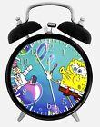 "SpongeBob SquarePants Alarm Desk Clock 3.75"" Home or Office Decor W112 Nice Gift"