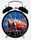 "Disney Cars Mcqueen Alarm Desk Clock 3.75"" Home or Office Decor W101 Nice Gift"