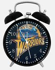 "Golden State Warriors Alarm Desk Clock 3.75"" Home or Office Decor W205 Nice Gift"