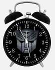 "Transformers Alarm Desk Clock 3.75"" Home or Office Decor W200 Nice For Gift"