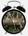 """Leopard Jaguar Alarm Desk Clock 3.75"""" Home or Office Decor W410 Nice For Gift"""