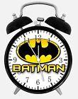 "Batman Alarm Desk Clock 3.75"" Room Office Decor E66 Be A Nice Gift"