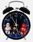 "Lego Ninjago Alarm Desk Clock 3.75"" Home or Office Decor W409 Nice For Gift"