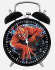 "Spiderman Alarm Desk Clock 3.75"" Room Office Decor X01 Will Be a Nice Gift"