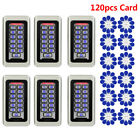 6XKeypad RFID Home Access Control System Proximity Card Standalone+120pcsCard CO