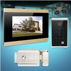 """HOMSECUR 7"""" Hands-free Video&Audio Smart Doorbell+RFID Access for House/Flat"""