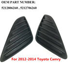 Fog Light Grilles Set of 2 OEM TO1039147, TO1038147 For Toyota Camry 2012-14 SH2