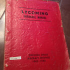 1940-1945 Lycoming Opposed Engines Overhaul Manual, 235 290 435 Series
