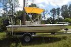 2002 Action Craft Fishing Boat w/ Mercury Engine, Trailer and Bimini