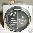 Cessna / Piper Aircraft Auxiliary Tank Fuel Quantity Indicator
