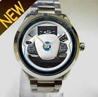New Rare Vintage BMW i3steering wheel Custom for Sport unisex WristWatch