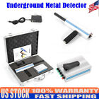 12V 1000-1600mAh AKS Detective Underground Metal/Gold/Copper Detector Silver New