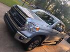 2015 Toyota Tundra SR5 2015 CrewMax SR5 Toyota Tundra 5.7L Silver Truck - 25,040 miles, Loaded w Extras