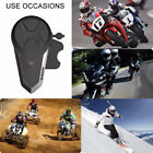 Waterproof 1000m BT Intercom Bluetooth Motorcycle Helmet Interphone Headset FM