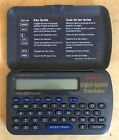Franklin Spanish English Translator TES-106 Data-Bank Travel Ace *Tested & VGC*